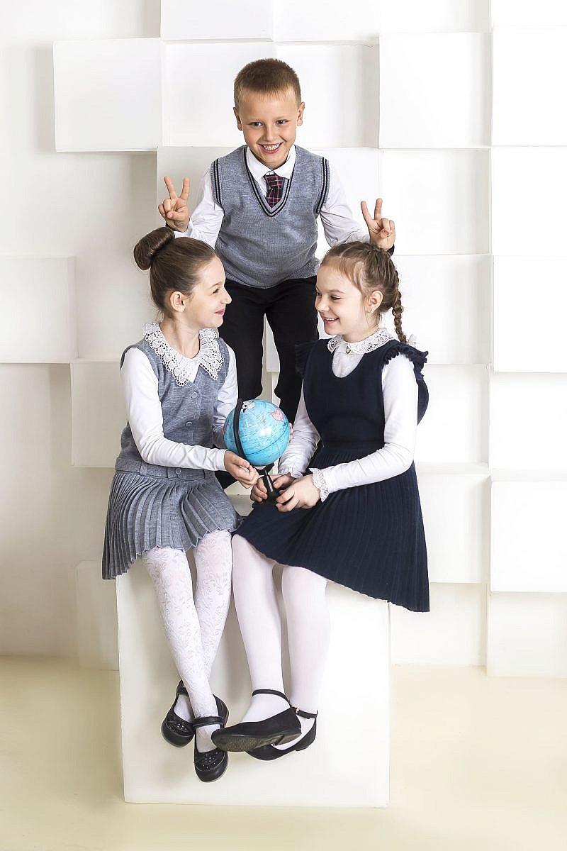 Трикотажная школьная форма