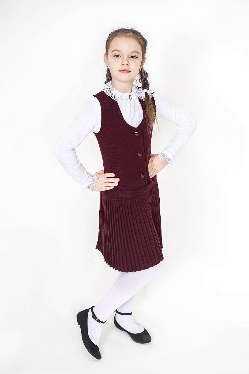 Трикотажный сарафан для девочки в Челябинске, Магнитогорске, Учалах, Уфе, Белорецке