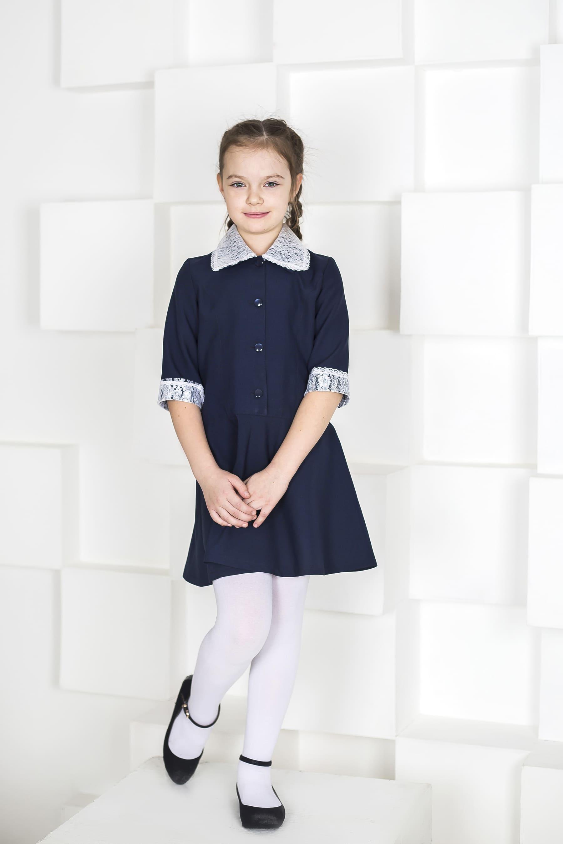 Платье школьное с пуговицами для девочки (пикачу) в Челябинске, Магнитогорске, Учалах, Уфе, Белорецке.