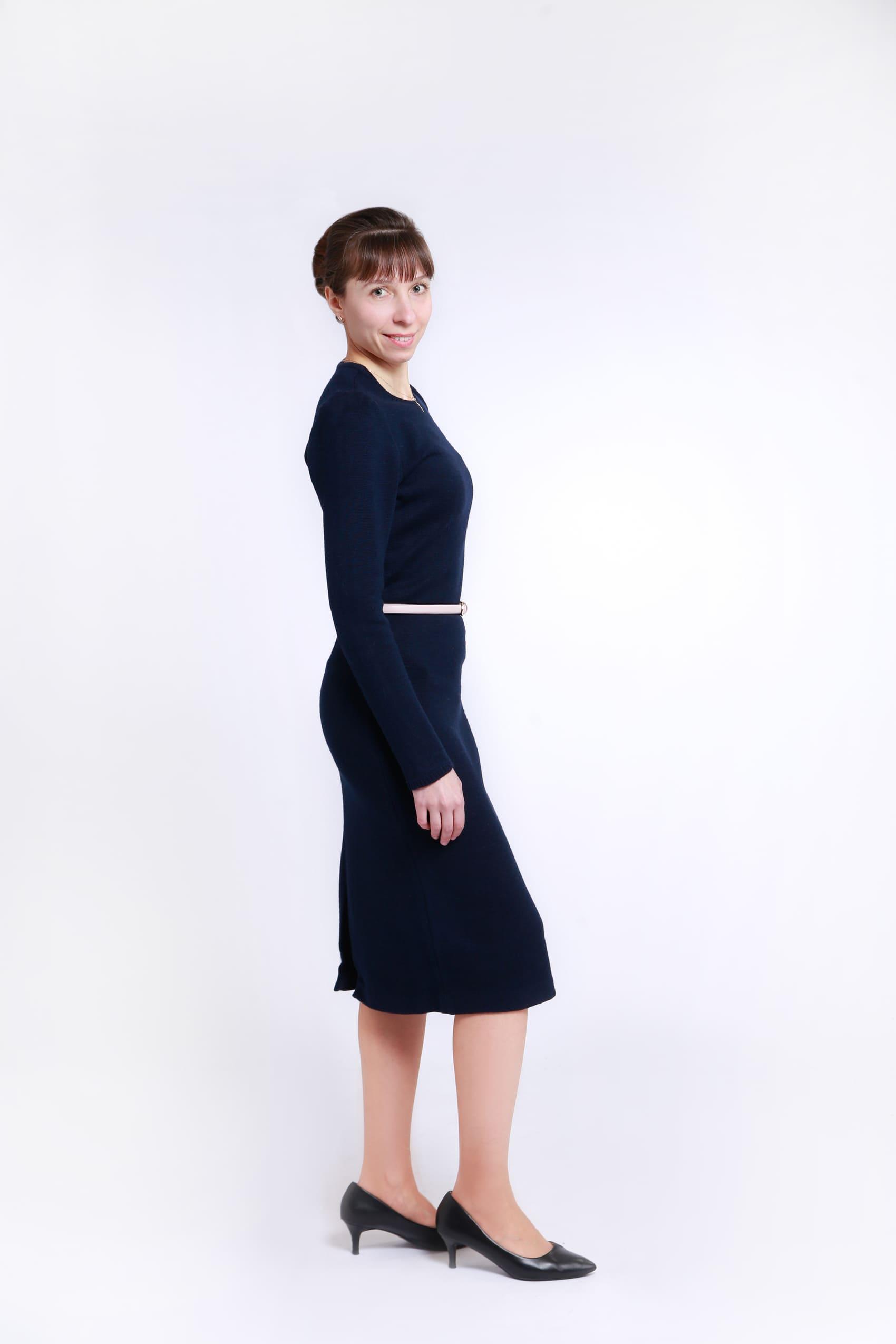 Трикотажное платье «Классика» для учителя